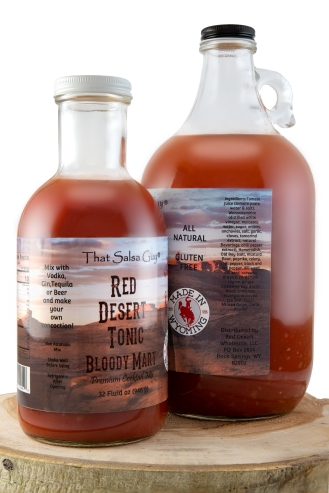 Red Desert Tonic Bloody Mary mix duo knocked out and ready for the web!